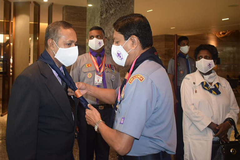 Sri Lanka Scout District Key office  Bearers Conference