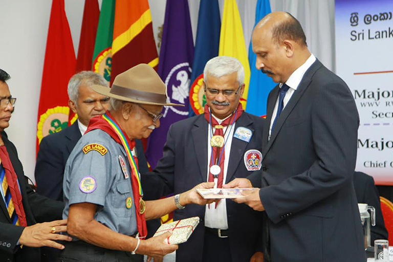 Sri Lanka Queen's And President's Scout Guild 2020-09-26