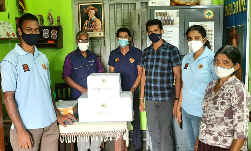 Kegalle District Donates Face Masks