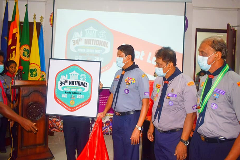 Logo and Event Launch of the 34th National Rover Scout Moot