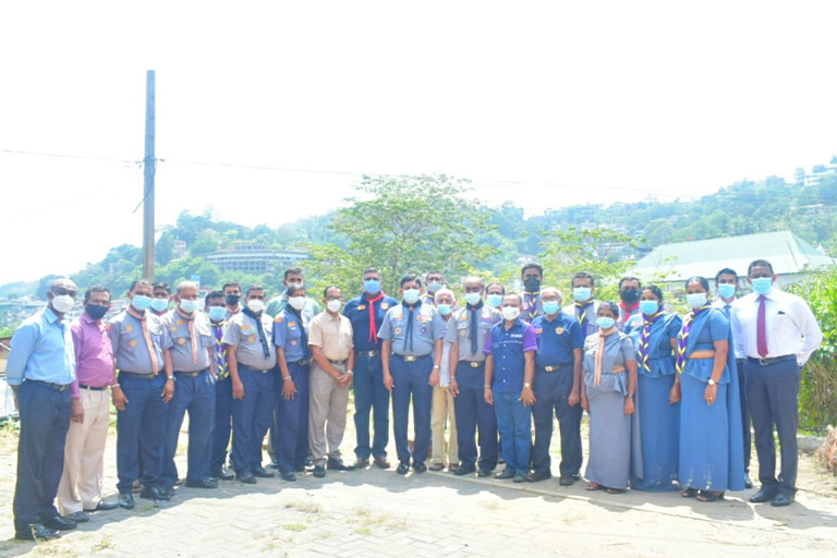 Chief Commissioner Visits Kandy District Scout Headquarters