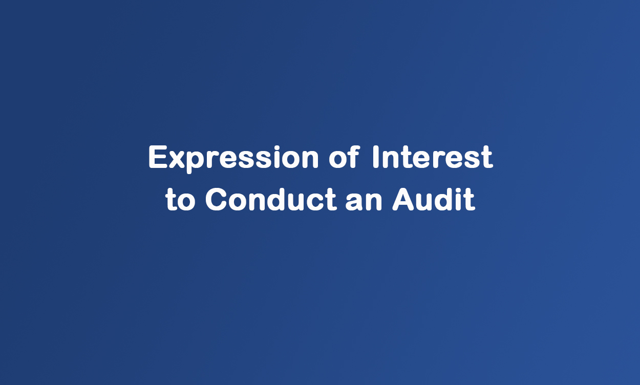 Expression of Interest to Conduct an Audit