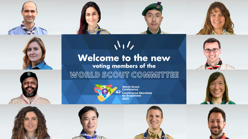 Conference elects 12 Voting Members to the World Scout Committee