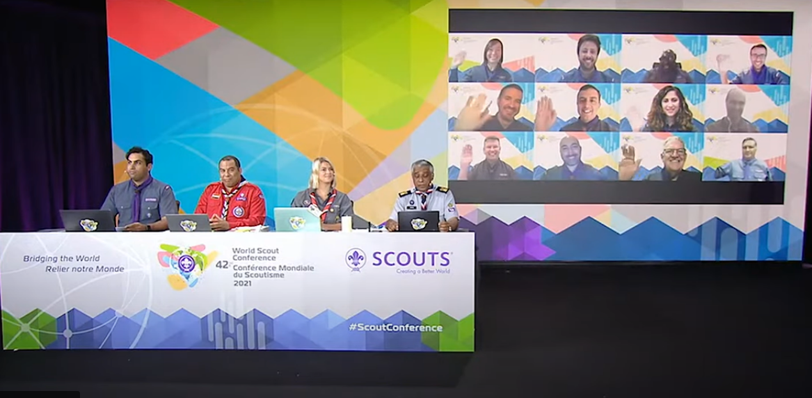 42nd World Scout Conference Opens