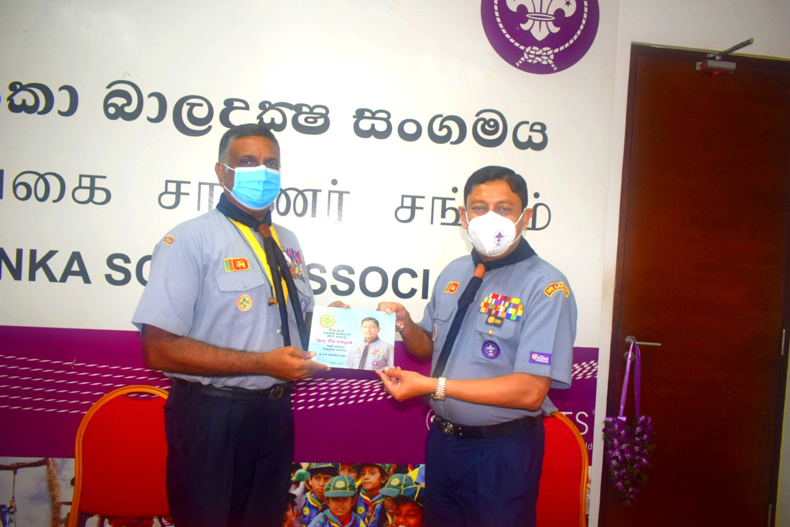 21st Chief Commissioner of the Sri Lanka Scout Association assumes duties
